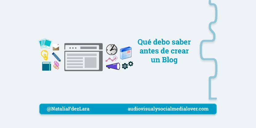 factores que debes saber antes de crear un blog