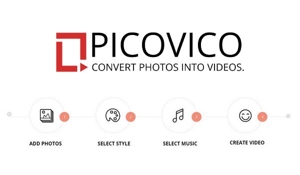 Picovico: convierte tus fotos en vídeos