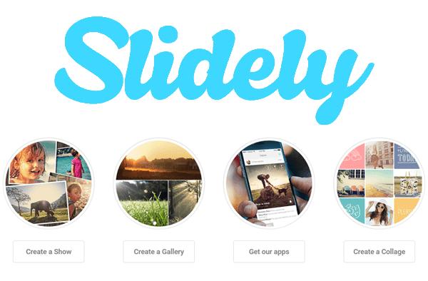 Slidely para crear vídeos con tus fotos