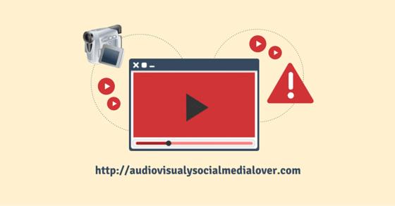 Evita estos 10 errores al hacer vídeos