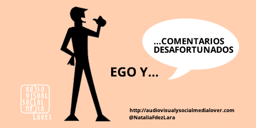 Errores en redes sociales - Ego y malos comentarios