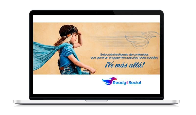 Ready4Social herramienta que hace selección inteligente de contenidos