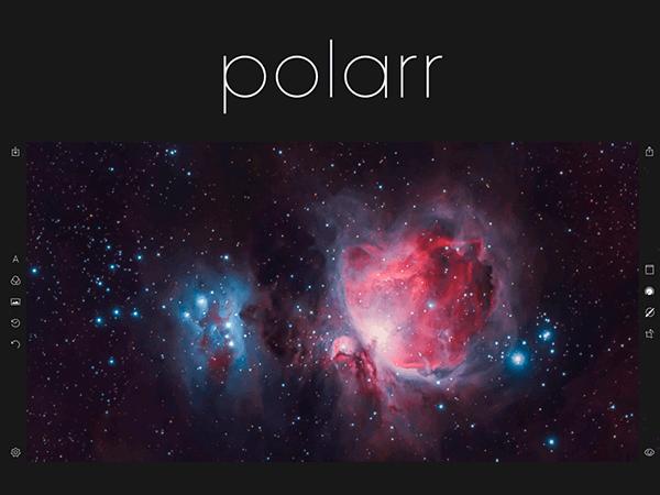 Polarr, programa de edición de fotos online multisistema