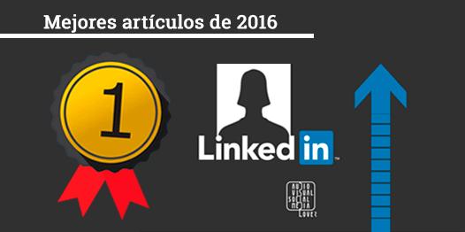 Medalla de Oro - Mejor artículo del blog 'Audiovisual & Social Media Lover' en 2016