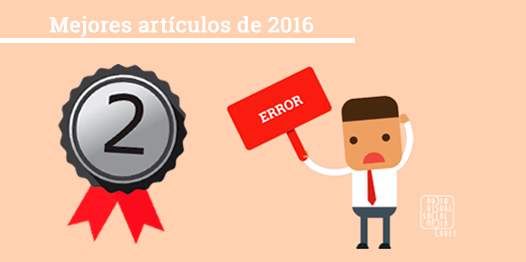 Medalla de Plata - Segundo mejor artículo del blog 'Audiovisual & Social Media Lover' en 2016