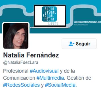 perfil de Twitter de Natalia Fernández Lara
