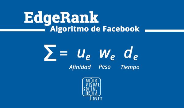 El EdgeRank de Facebook