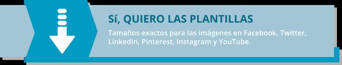banner para la descarga de plantillas con los tamaños de las imágenes en redes sociales año 2020